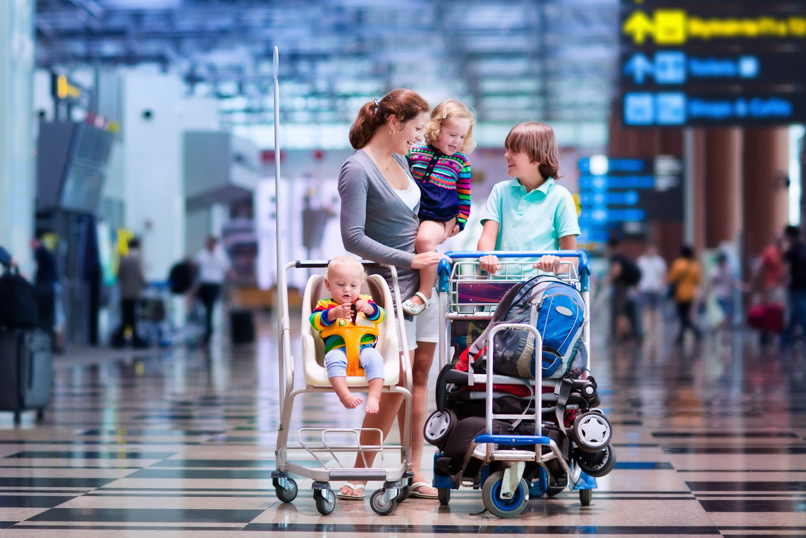 Traveling with minors